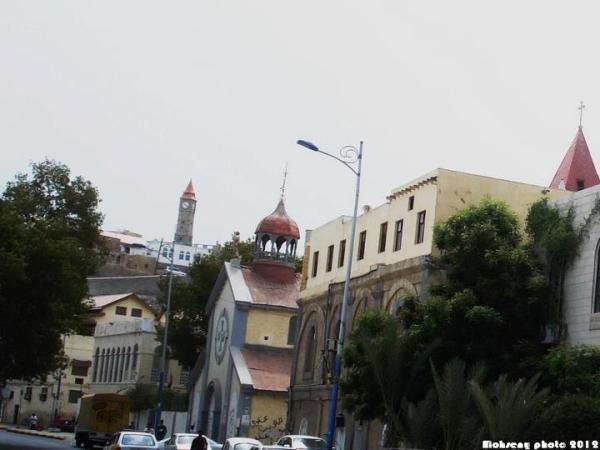 التواهي ــ  الكنيسة والساعة