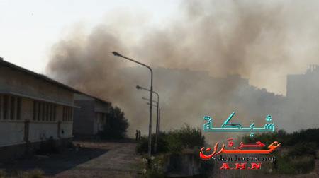 حريق مصنع الغزل
