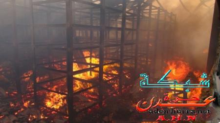 حريق مصنع الغزل1
