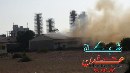 حريق مصنع الغزل2
