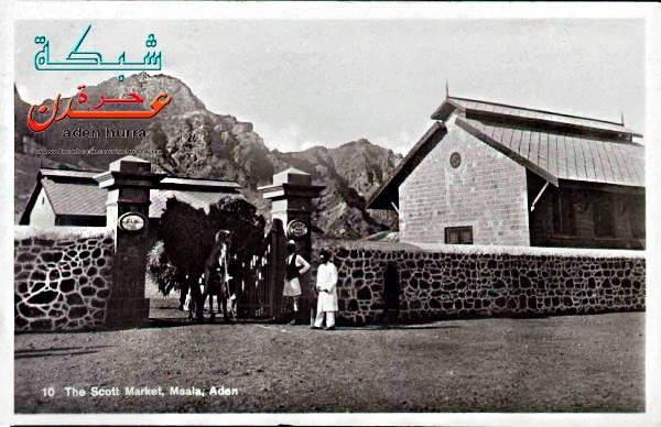 سوق البلدية بالمعلا قديما